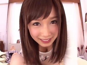 blowjob from the cutest japanese teen