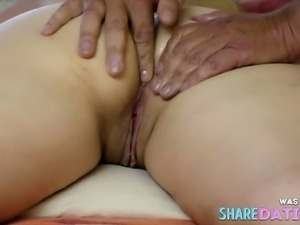 Asshole massage on hidden cam, vibrator in asshole