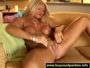 This sexy cougar is a star and she needs to make a thousand movies of her