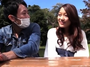 Attractive Japanese teens getting pounded deep and rough