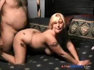Blonde wife homemade