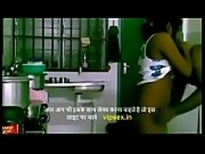 indian sex couple hardcore in kichen