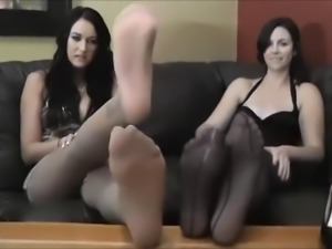 femdom aunt foot domination joi