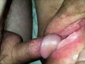 Mature pussy orgasm up close