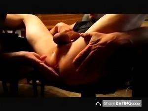 Amazing prostate massage (with cum)