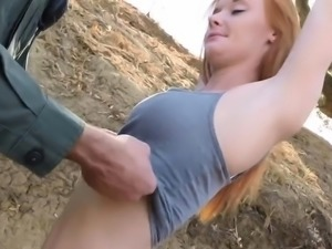 Lovely cutie enjoys being banged
