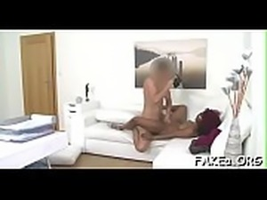 Fake agent gets punished truly hard by a thick knob