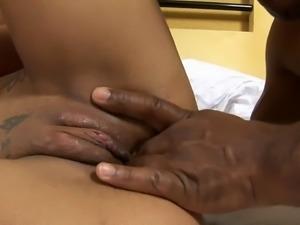 Hardcore tranny bitch fucking a horny Latina wife and her husband