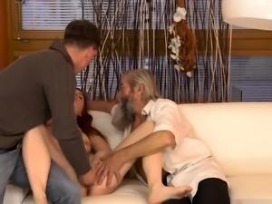 Teen huge cock handjob xxx Unexpected practice with an older