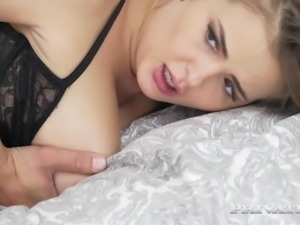 Private.com Busty Babe Takes a Facial After Anal