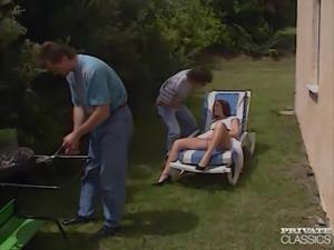 Private Classics, DP Threesome in the Garden