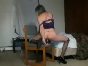 sissyboy seejay anal toy cumswallow
