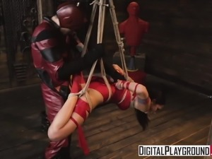 DigitalPlayground - The Offenders A DP XXX Parody Ariana Mar