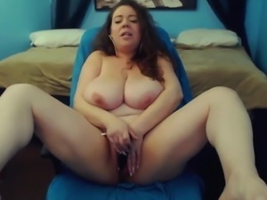 Sexy loud moaning Mariah with huge bouncing tits gets cum