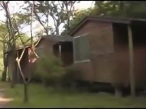 Hardcore outdoor sex video of crazy amateur girl