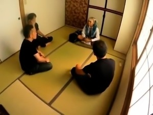 Really wild outdoor Japanese teen blowjob