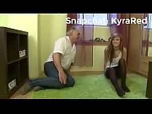 Dasha the hot college girl gets naughty with stepdad