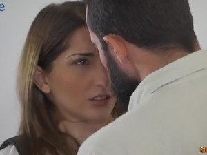 Ardent Spanish nympho Jimena Lago is happy to be analfucked damn hard enough