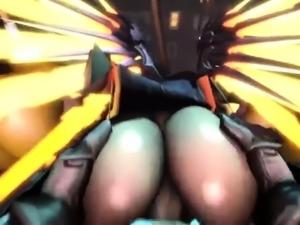 Hentai Cartoon 3D Overwatch