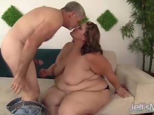 Fabulously Fatty Takes a Hard Fucking