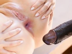 Monster cock anal sex with Sasha Sparrow