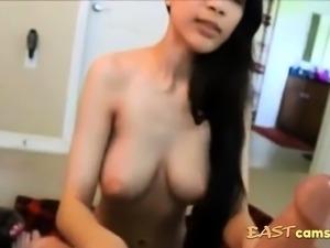 Malay girl Blow white guy