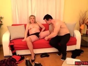 Hot milf anal with cumshot