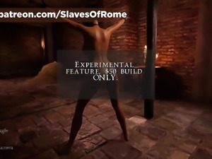 Slaves Of Rome Game - In-Game Punishment Scene - Whipping