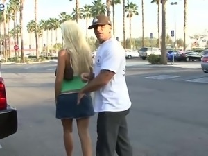 Big breasted blonde MILF Rhyse Richards is made for some good mish