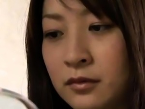 Horny Japanese milf takes a hard dick for an exciting ride