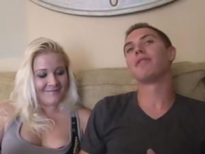Slender all natural blond head is really into nothing but wild missionary sex