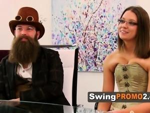 Swingers discuss different scenarios