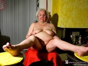 Omageil chubby old grandma pictures compilation