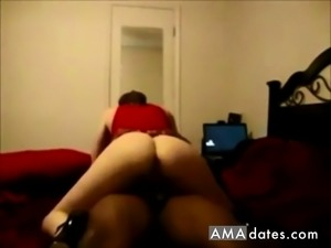 Cheating wife interracial while husband at work