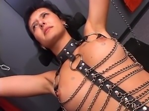 She is ready for punishment
