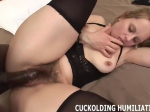 Your cock just isnt big enough to make me cum