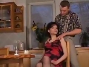 PREGNANT BALD FUCKED ON TABLE A75