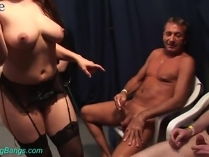 Torrid wild orgy takes place as bootyful whore Julia wanna reach orgasm