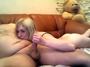 Blonde Teen POV Anal and BlowJob MrHitch com