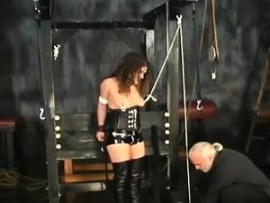 Large beautiful woman dilettante bondage porn