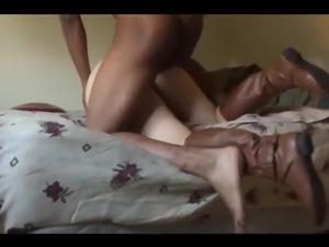 sex british babe takes her first BBC