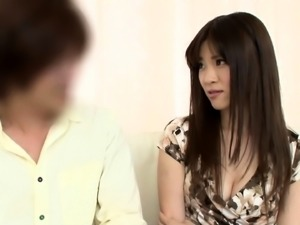 Striking Japanese wife plays out her wild cuckold fantasy