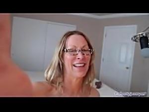 Sexy Milf Rides Big Black Cock