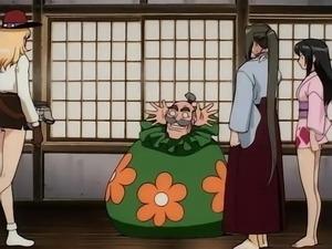 Honoo no Labyrinth (Labyrinth Of Flames) anime ecchi scenes