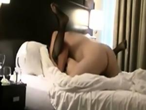 Japanese Hotwife Slut Cums Hard Fucked by White Cock
