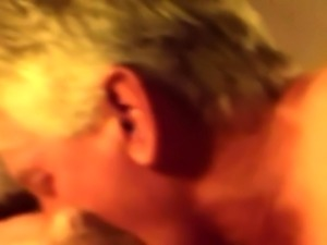 Chubby mature wife getting rammed doggystyle and creampied