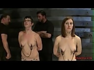 Fetish Porn With Naked Chicks in Police Lineup