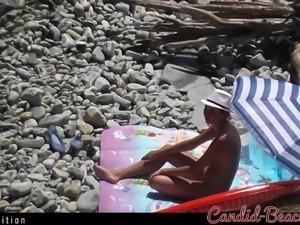 WInter Edition! -Voyeur Nudist Beach Amateur Ladies Spycam 9