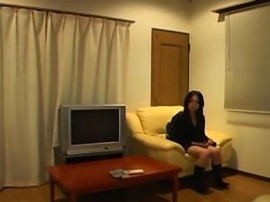Unrepining japan model anal screwed by a group of men