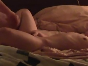 Hidden cam catches me spread wide and fingered